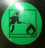 f2a Piktogramm Feuerwehrstiefel